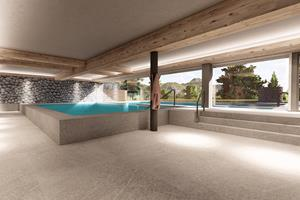 New and extended Salt-water pool & Wellness Oasis